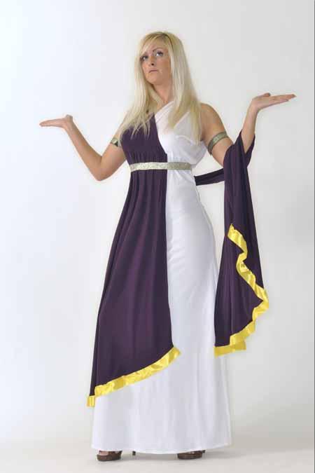 r merin karneval fasching priesterin gewand fantasy kost m. Black Bedroom Furniture Sets. Home Design Ideas