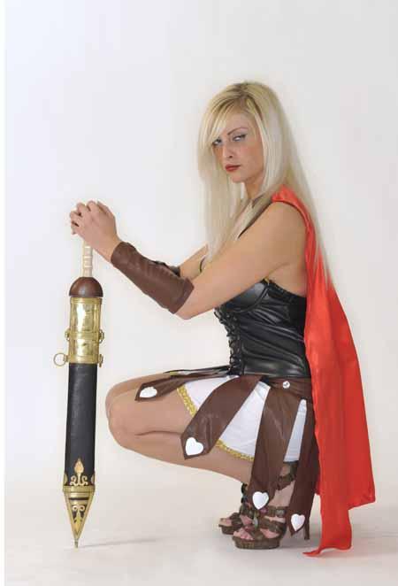 gladiatorin amazone rom karneval fasching damen kost m. Black Bedroom Furniture Sets. Home Design Ideas